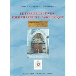 Terrier de Villeneuve-l'Archevêque