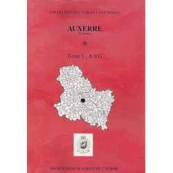 Auxerre (intra-muros) (89-03) Tome 1