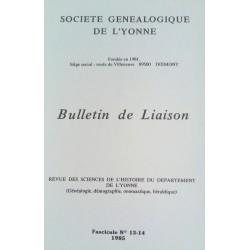 Bulletins n°13/14