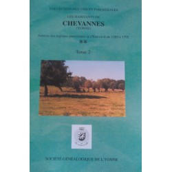 Chevannes - Tome 2 - D à Z