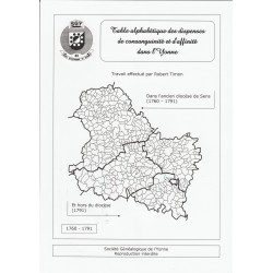 Dispenses de consanguinité et d'affinité dans l'Yonne