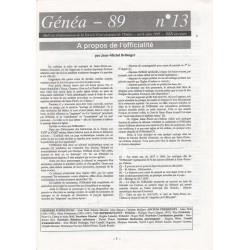 Généa 89 n°13