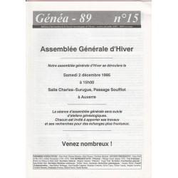 Généa 89 n°15