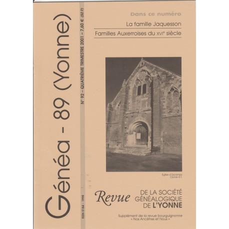 Généa 89 n°92