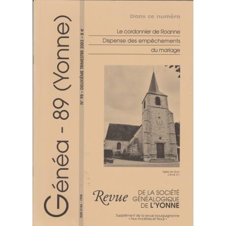 Généa 89 n°98