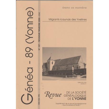 Généa 89 n°107