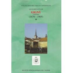 Gigny (89-187) - Tome 1 - A à L