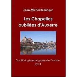 Les Chapelles oubliées d'Auxerre