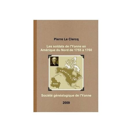 Les soldats de l'Yonne en Amérique du Nord de 1755 à 1760