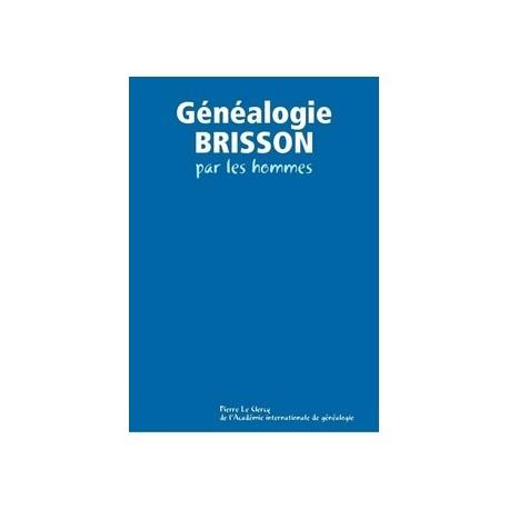 Généalogie BRISSON par les hommes